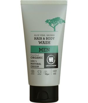 Shampoing Urtekram Hair & body wash men