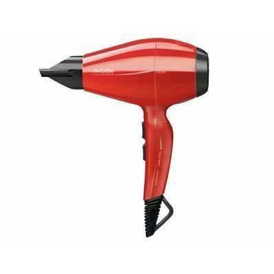 seche cheveux babyliss rouge