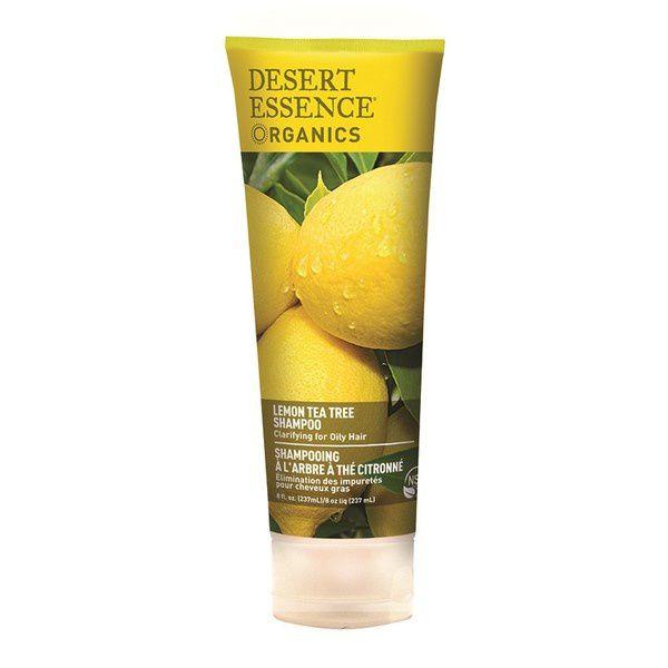 shampoing citron desert essence