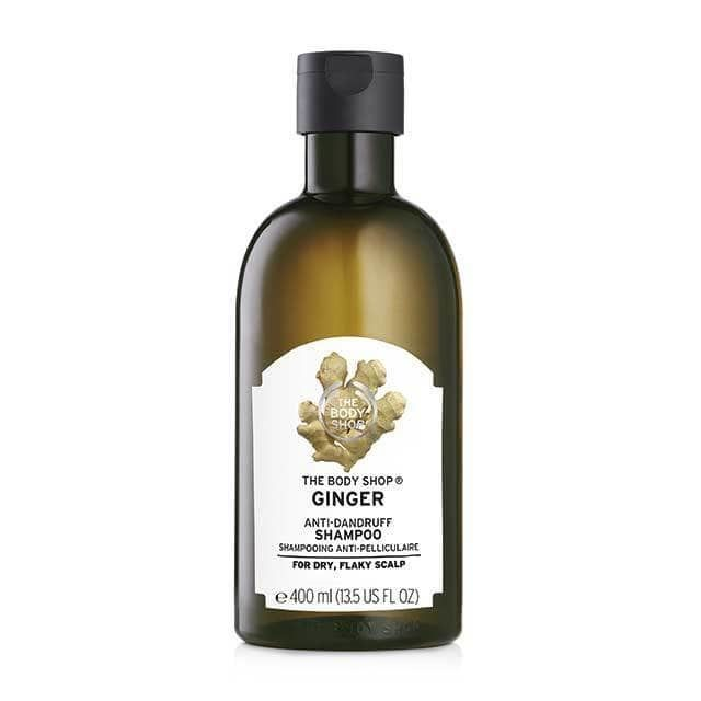 the body shop shampoing antipelliculaire au gingembre