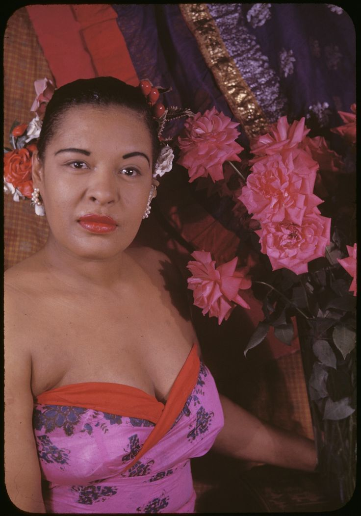 Billie Holiday photographiée par Carl Van Vechten en 1949