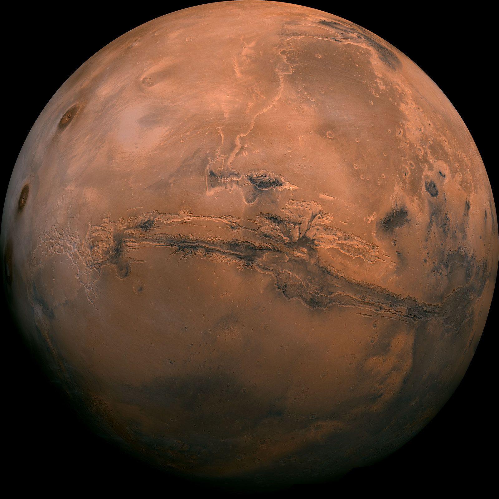 Pendant ce temps-là, sur Mars...