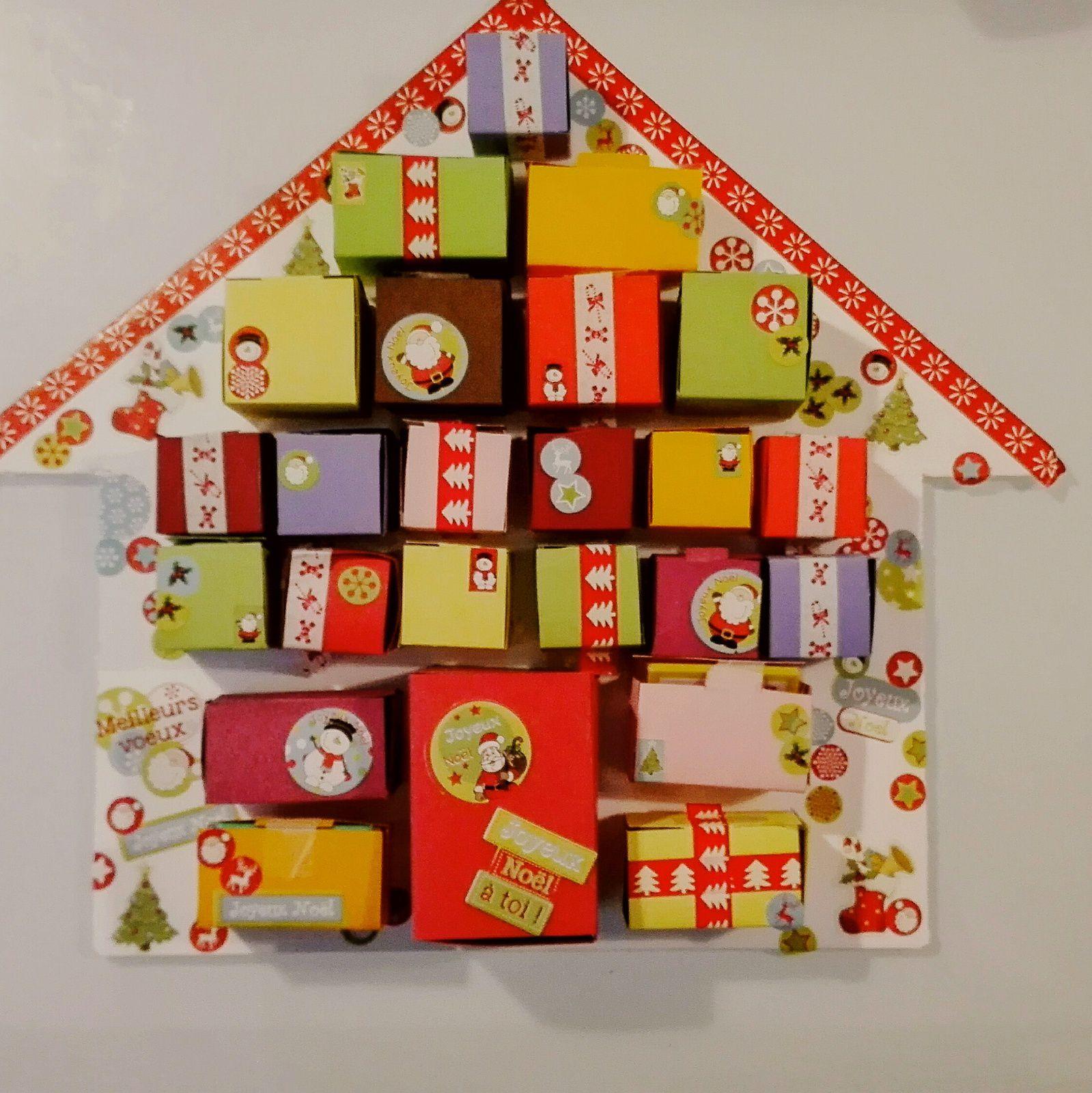 un calendrier de l 39 avent facile r aliser diy d butant maman home. Black Bedroom Furniture Sets. Home Design Ideas