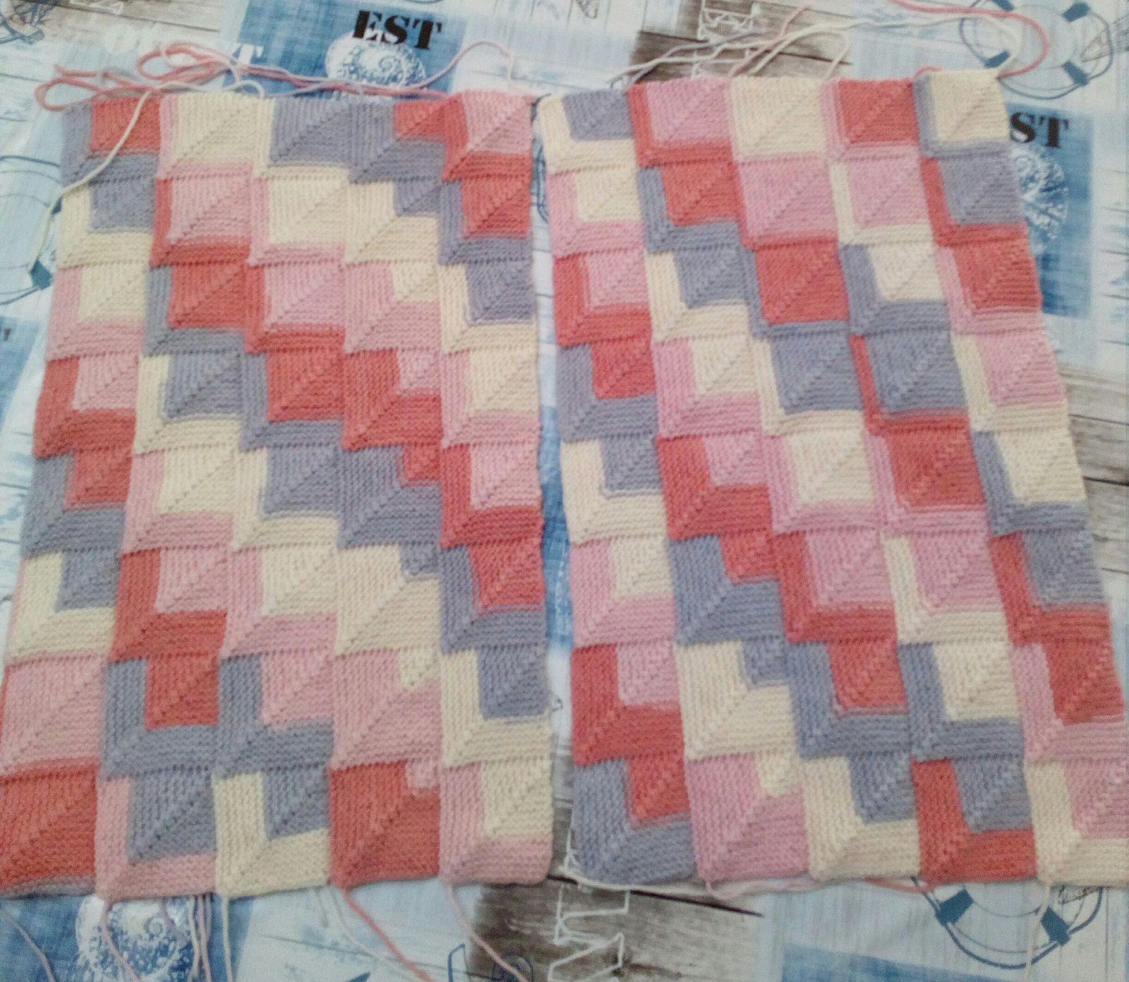 2 rectangles avec le nombres de carrés identiques