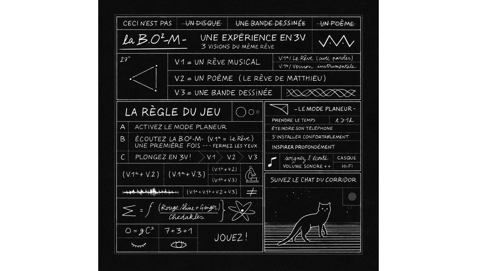 """Les """"règles du jeu"""" de La B.O² -M- (album de Mathieu Chedid - 2015)"""
