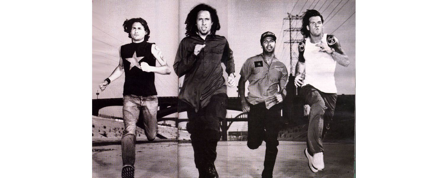 Rage Against the Machine - Groupe culte de Lawrence Clais