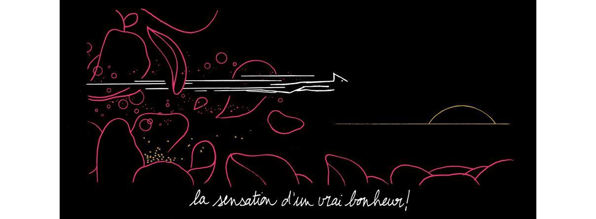 L'une des illustrations de Matthias Picard contenu dans La B.O² -M- (album de Mathieu Chedid - 2015)
