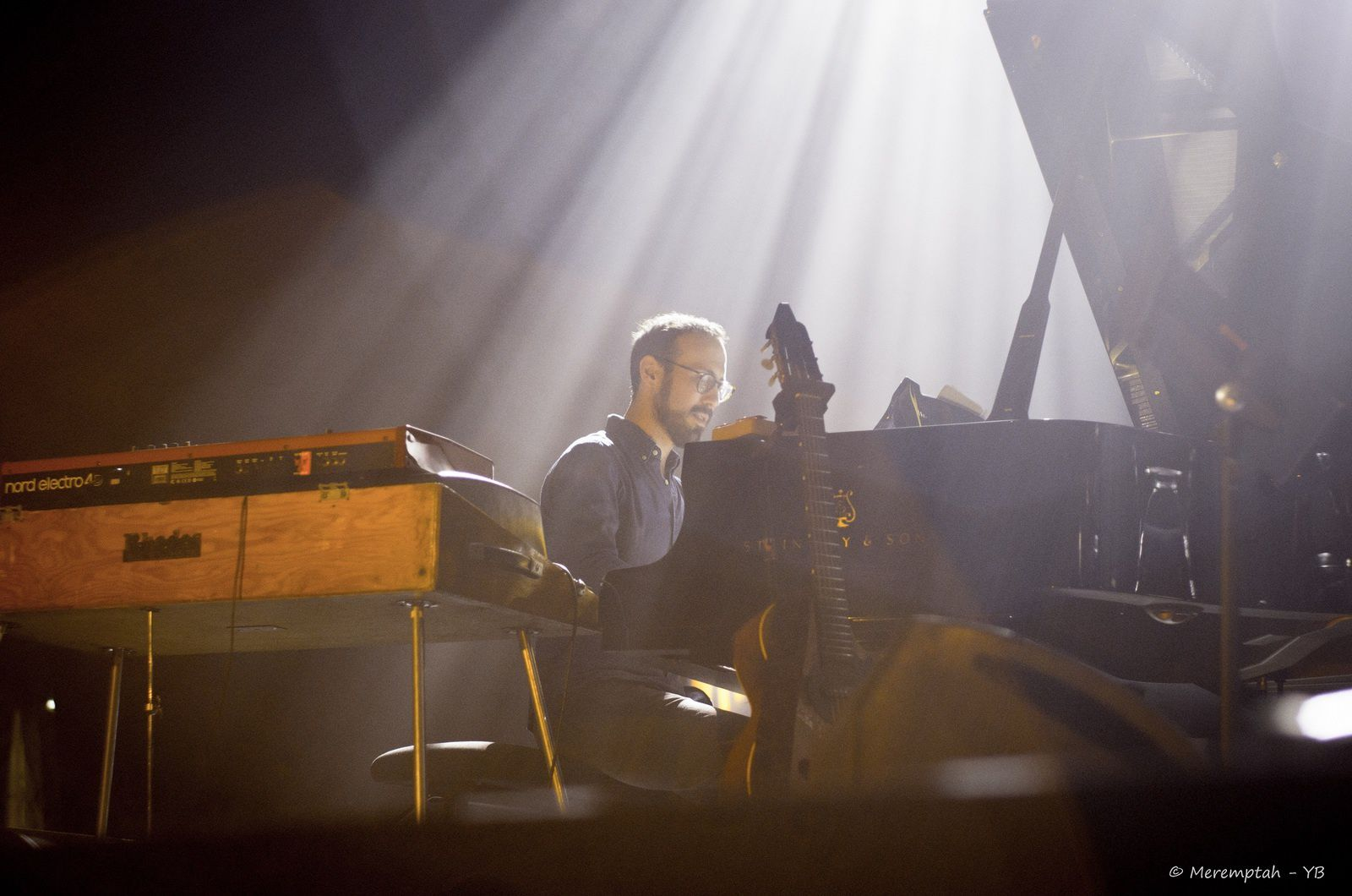 Yaron Herman au piano / Festival Jazz de Marciac / ©Meremptah