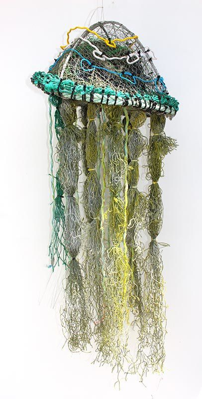 Sculpture aborigène ghostnet