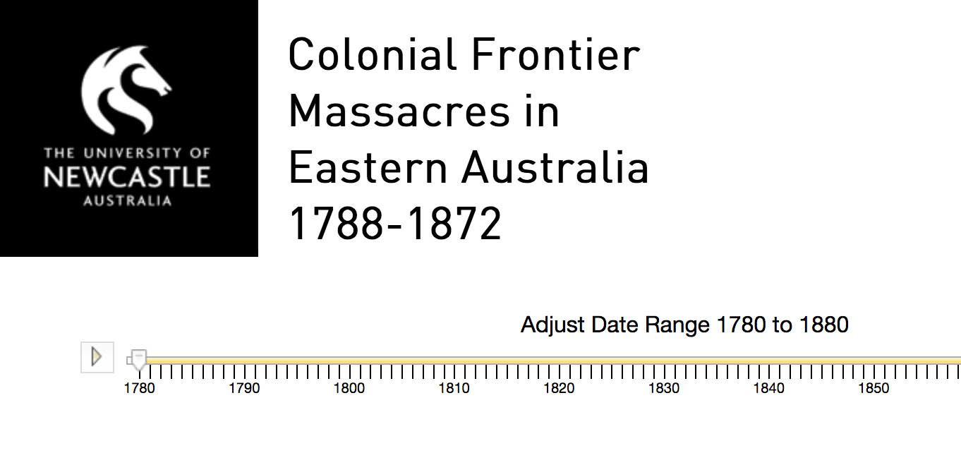Une cartographie des massacres d'Aborigènes