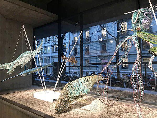 Exposition de sculptures aborigènes, Genève