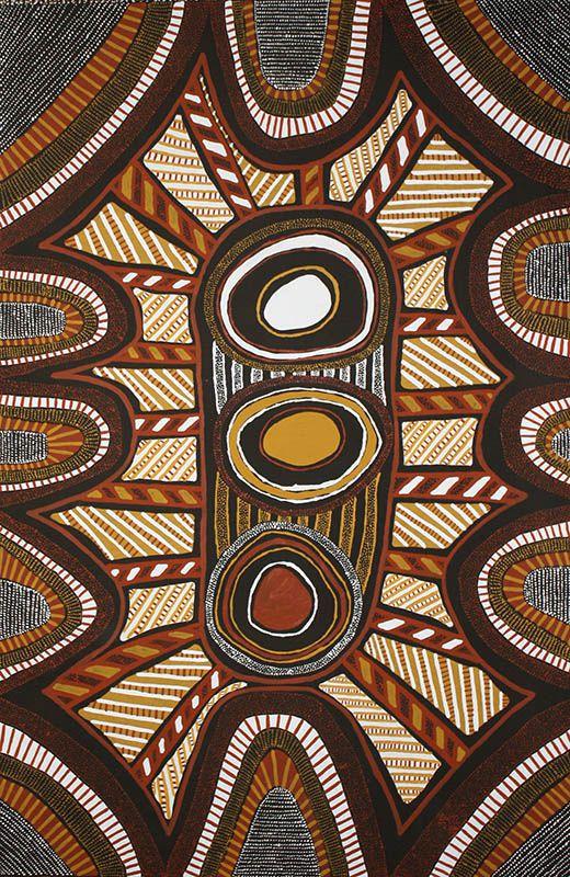 Peinture aborigène d'Australie  - expert