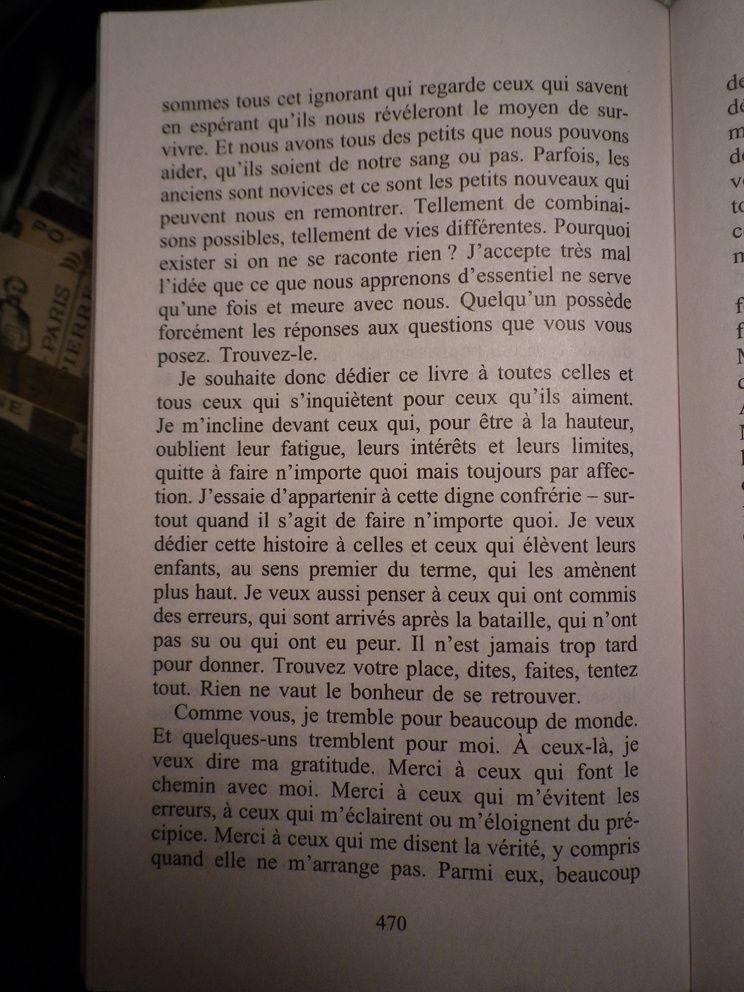 """Gilles Legardinier """"Quelqu'un pour qui trembler"""""""