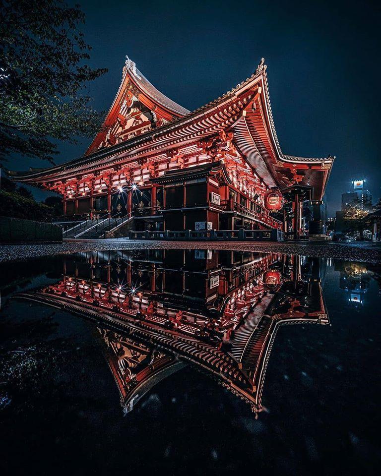 Senso-ji, Asakusa, Tokyo.