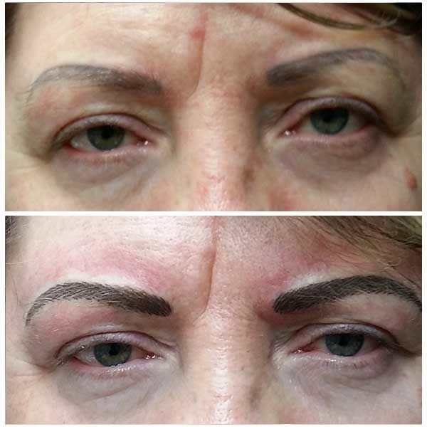 maquillage permanent sourcils microblading 6D