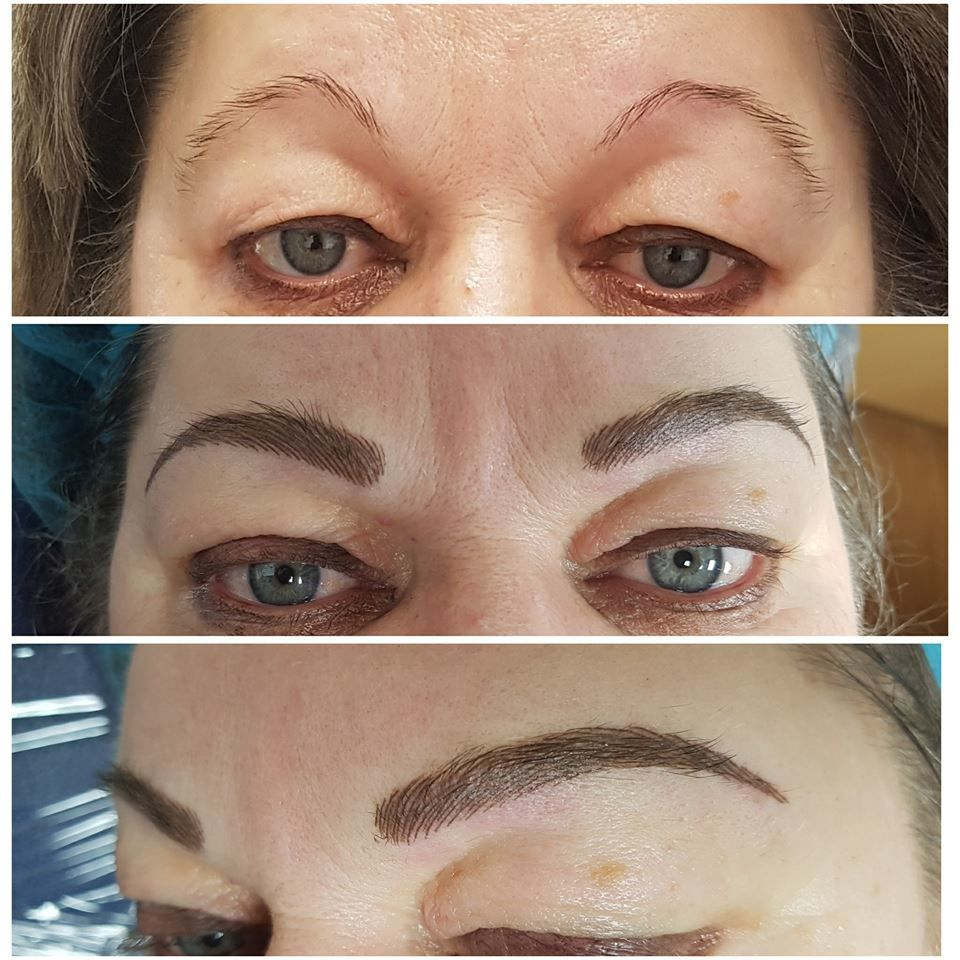 maquillage permanent poil a poil hairstrok
