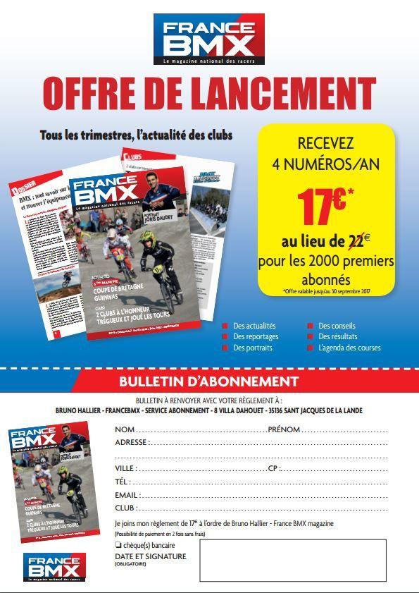 ARRIVEE D'UNE NOUVELLE REVUE DE BMX