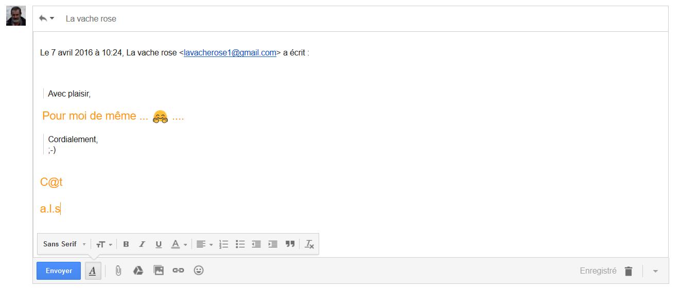 Trucs et Astuces : Répondre dans Gmail sans historique des messages précédents.....