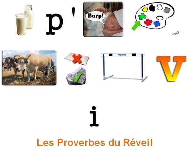 Les Proverbes du Réveil : Rentrée...