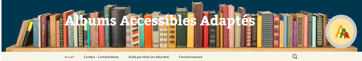 bibliothèque albums accessibles adaptés