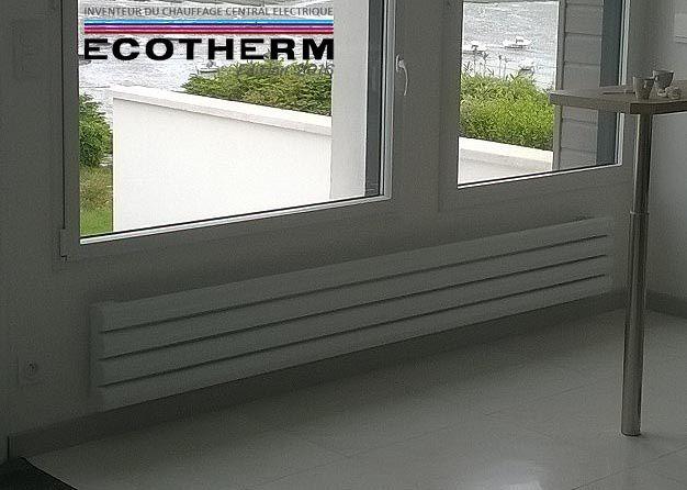 Radiateur électrique à inertie plinthe sur mesure.