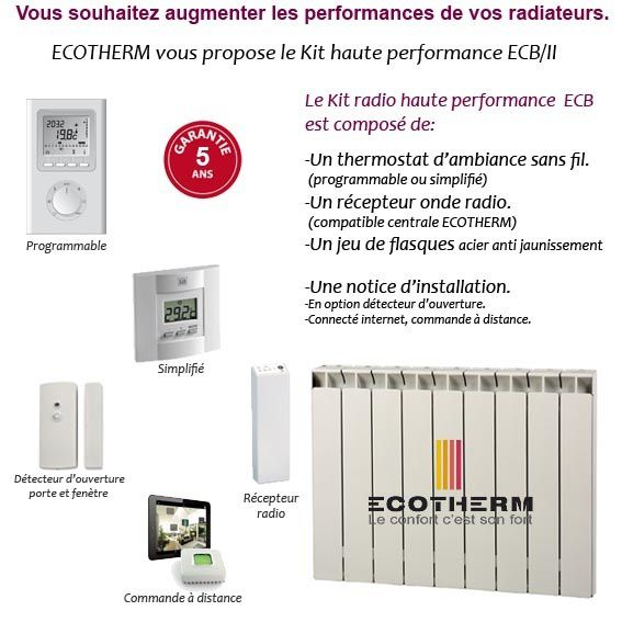 Thermostat radiateur ecotherm