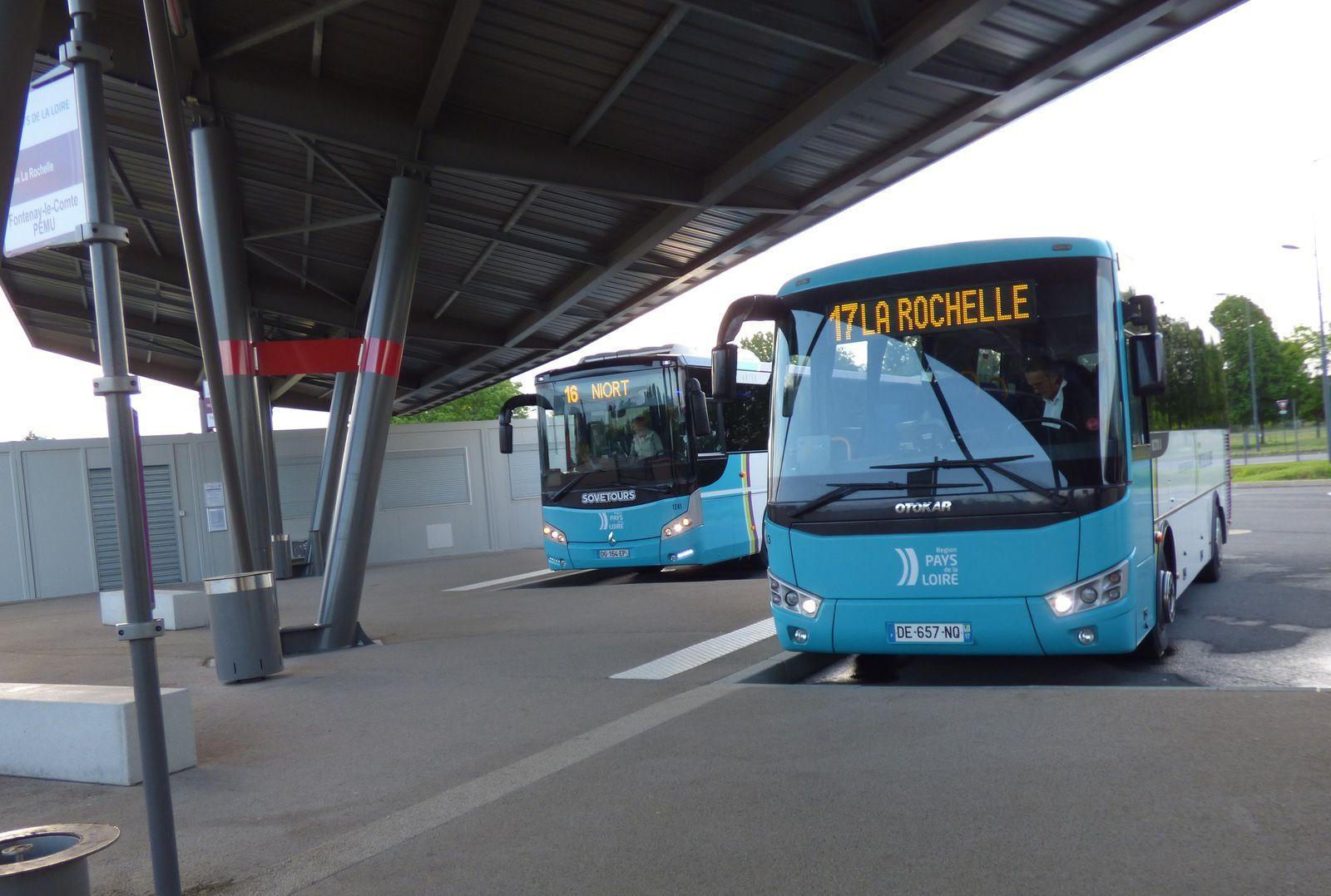 Fontenay-Niort : des horaires de bus adaptés aux trajets domicile-travail.