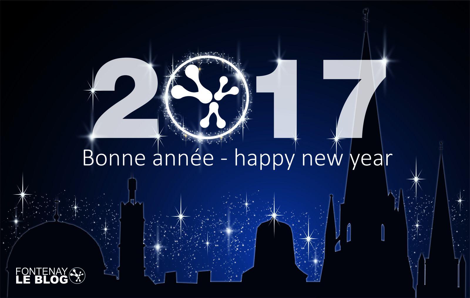 Bonne & heureuse année 2017 !