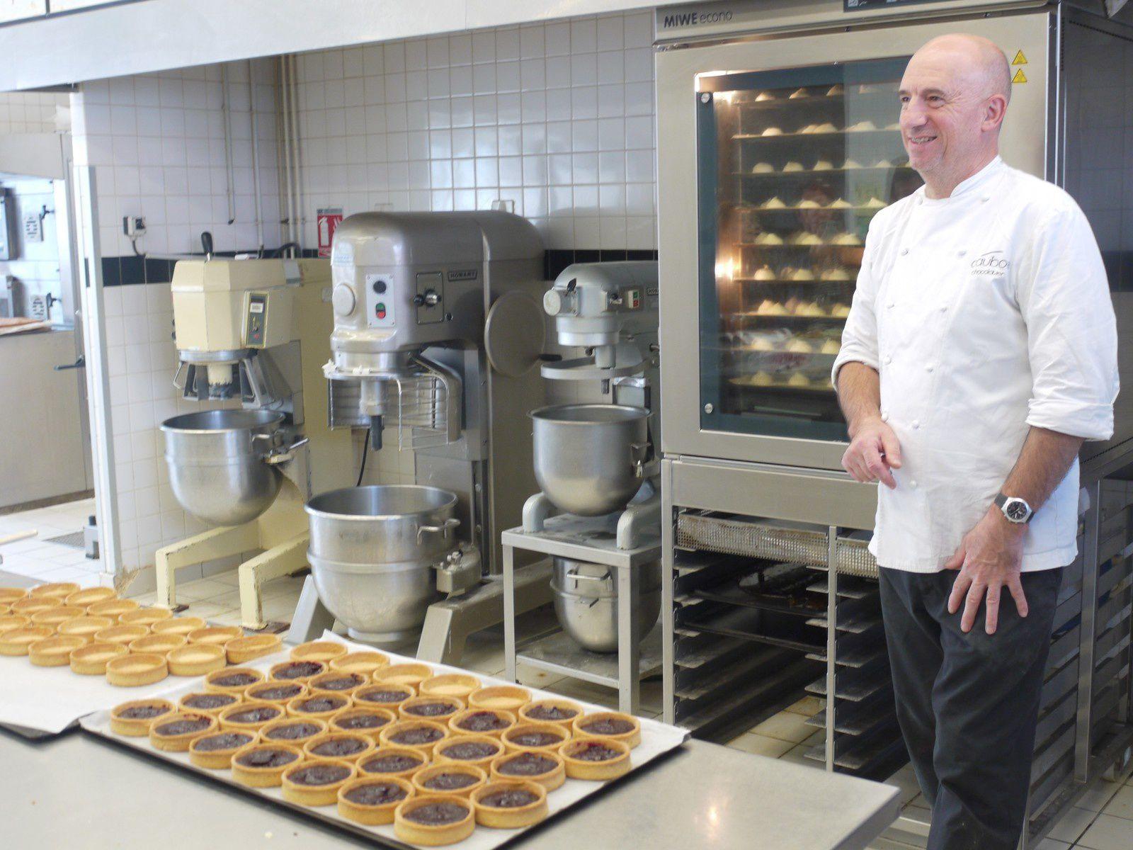 Franck Daubos, le maître chocolatier
