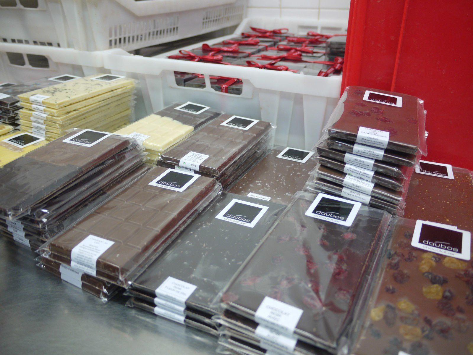Goûts d'Yvelines : une visite dégustation chez le pâtissier-chocolatier Daubos