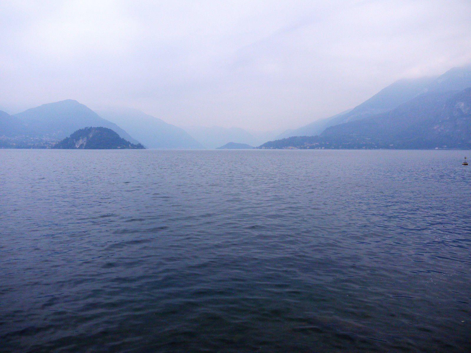 Balade automnale au bord du lac de Côme