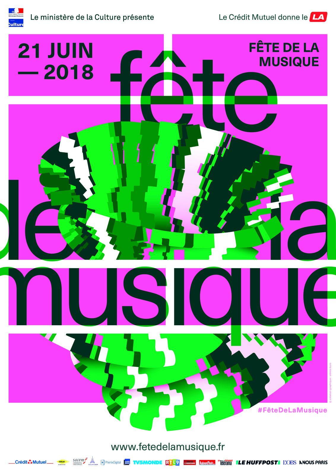 Programme fête de la musique St Hilaire St Mesmin 2018