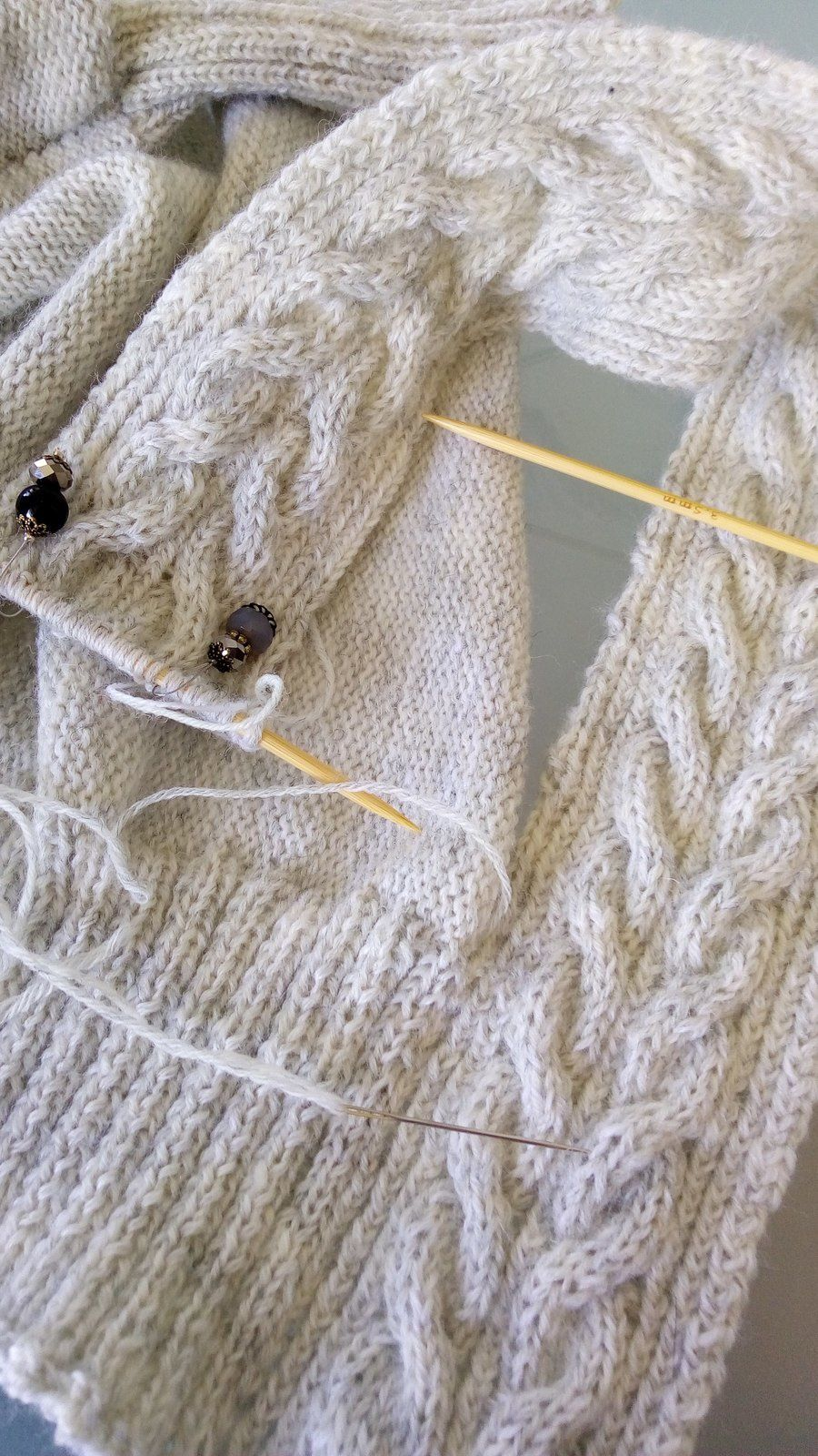 assemblage tricot