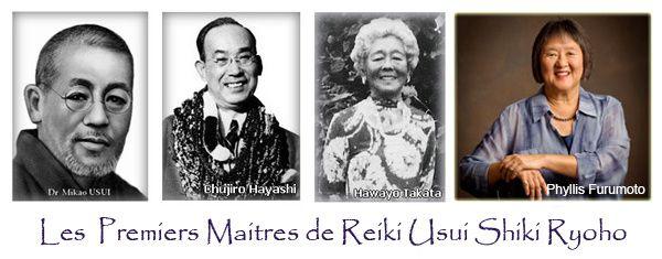 REIKI-Energie Vitale, Reiki Usui Shiki Ryoho