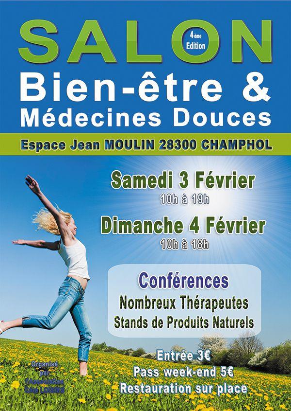 REIKI au Salon du Bien-Être et des Médecines Douces les 3-4 Février, Champhol/Chartres