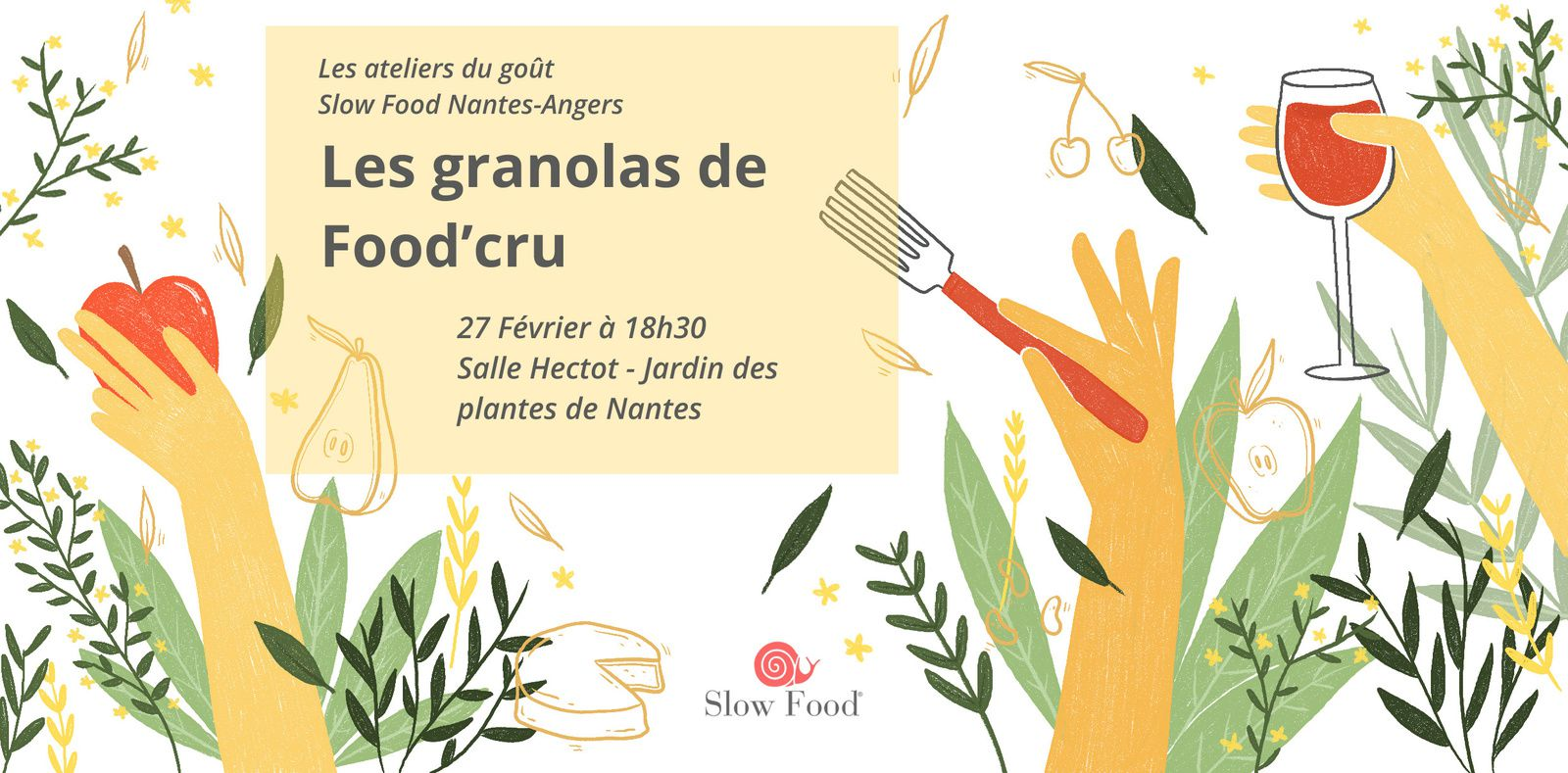Les granolas de Food'cru : prochain atelier du goût le 27 février 2019