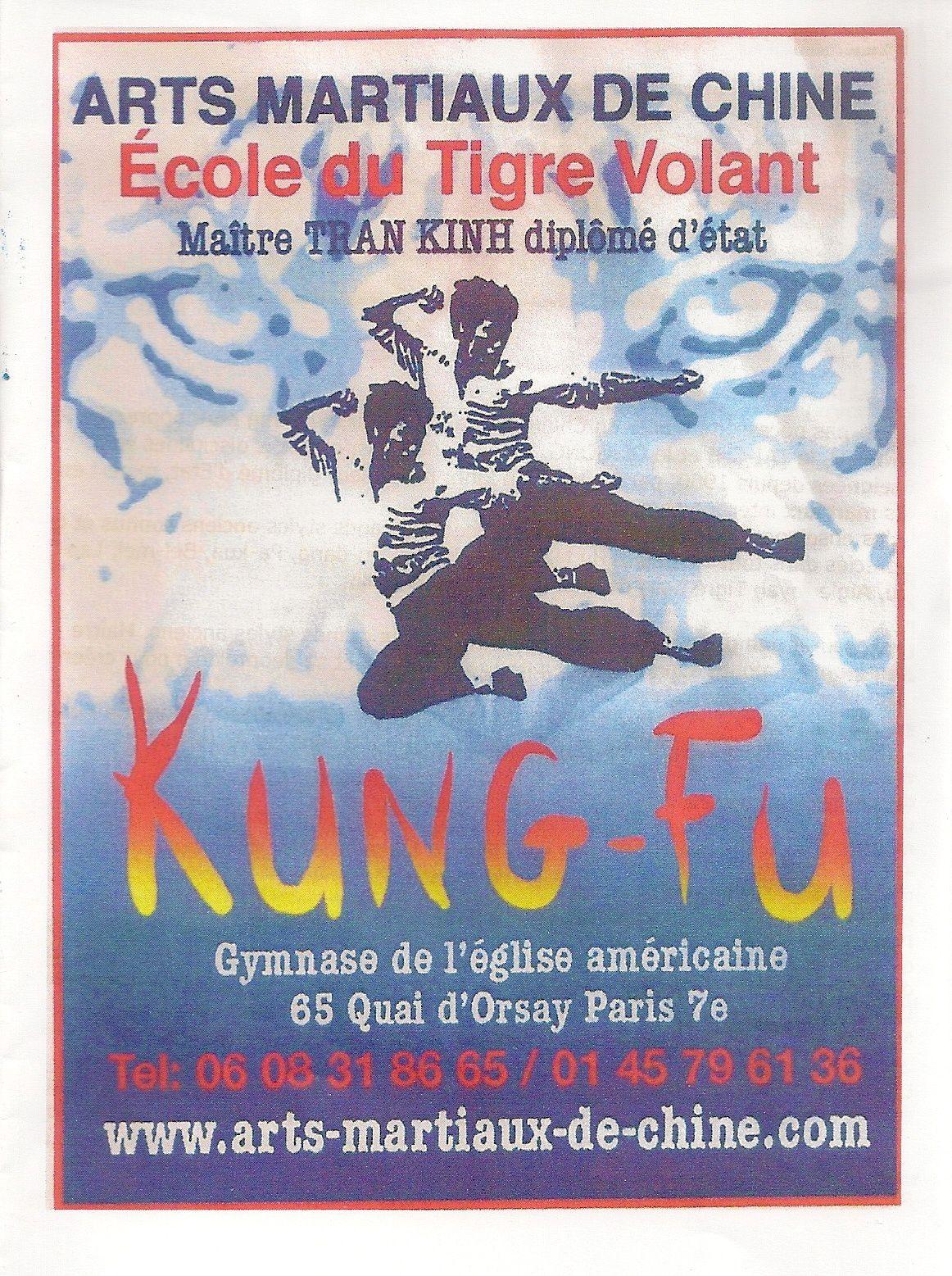 7 -  TAICHI QIGONG KUNG-FU STYLE TRAN KINH