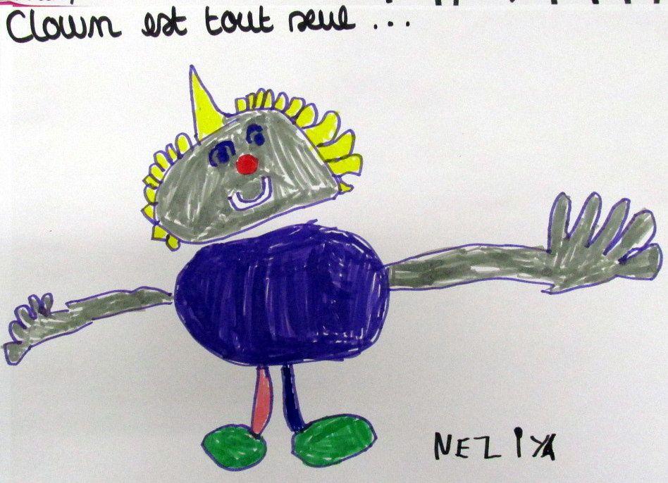 ~ CLOWN ~ BLAKE Quentin ~ Au fil des scènes ~ Fresque collective ~