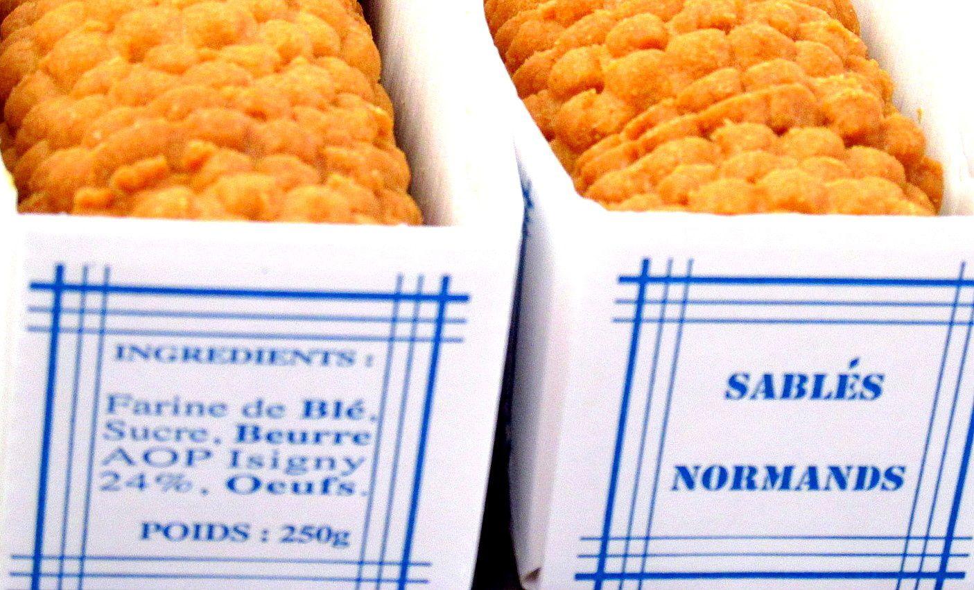 ~ Jour 2 ~ A-M : Visite de la biscuiterie d'Asnelles ~ Sablés normands ~