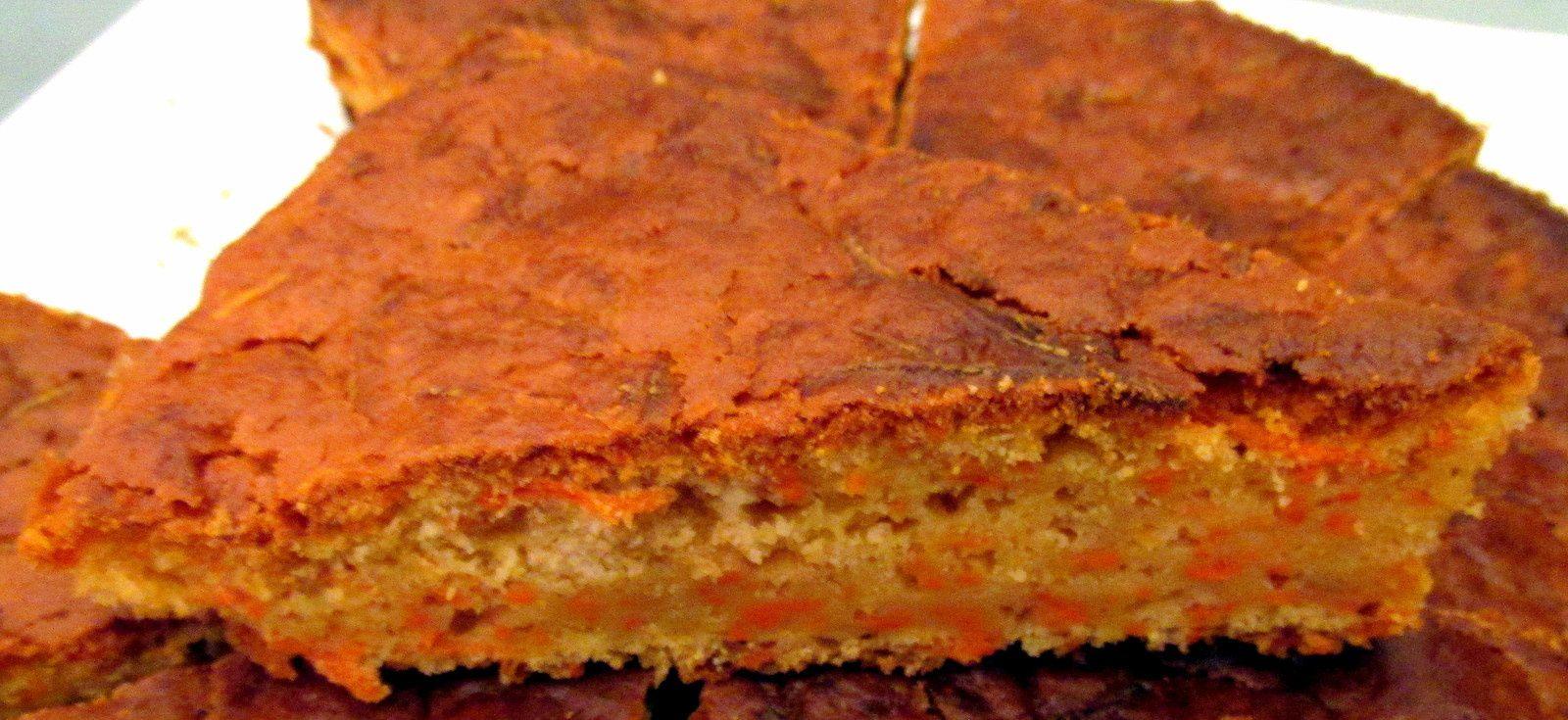 1. Une part 2. Une pointe #GâteauAlaCarotte #Carotte #Paprika
