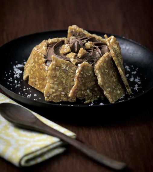 Jour 19 : tartelette nougatine et mousse au chocolat