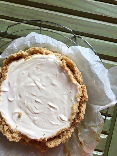 Cheesecake salé {4 ingrédients seulement et sans cuisson !}
