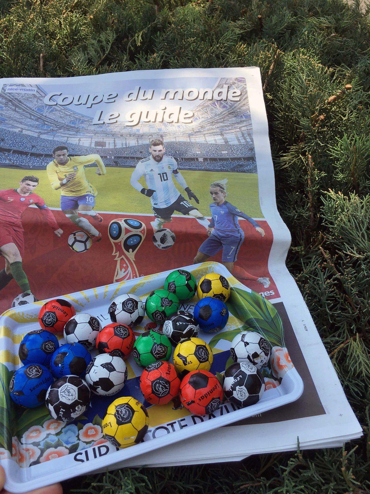 Des chocolats Leonidas pour la Coupe du Monde #NewsFood
