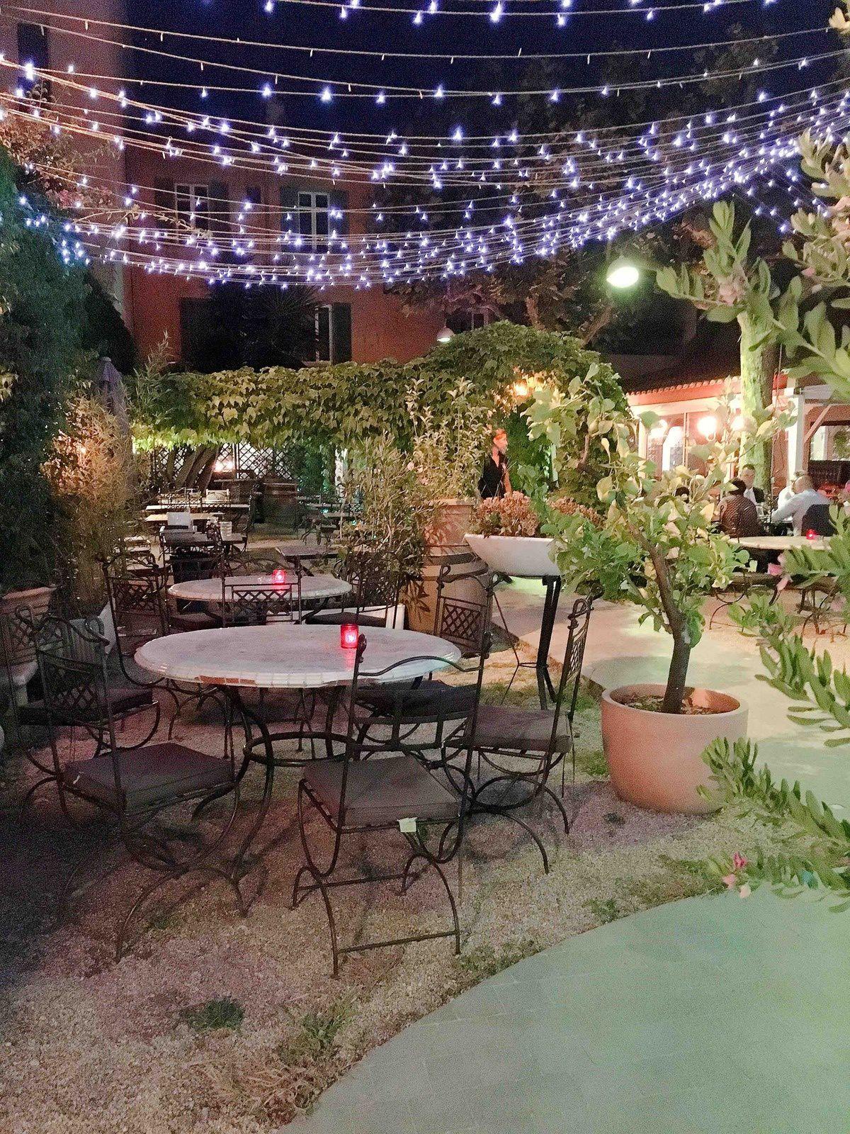 Le Jardin à Cannes : un coin de verdure pour manger en terrasse