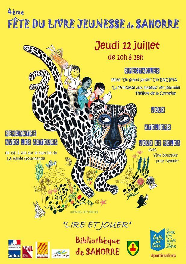 """Atelier """"Le livre qui parle"""" à la fête du livre jeunesse de Sahorre"""