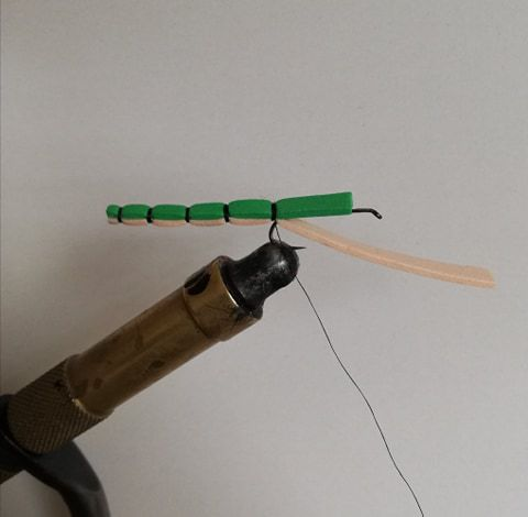 Fabrication d'une imitation de libellule !