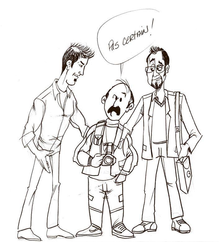 Larry & Alfred : Alfred largué par la techno