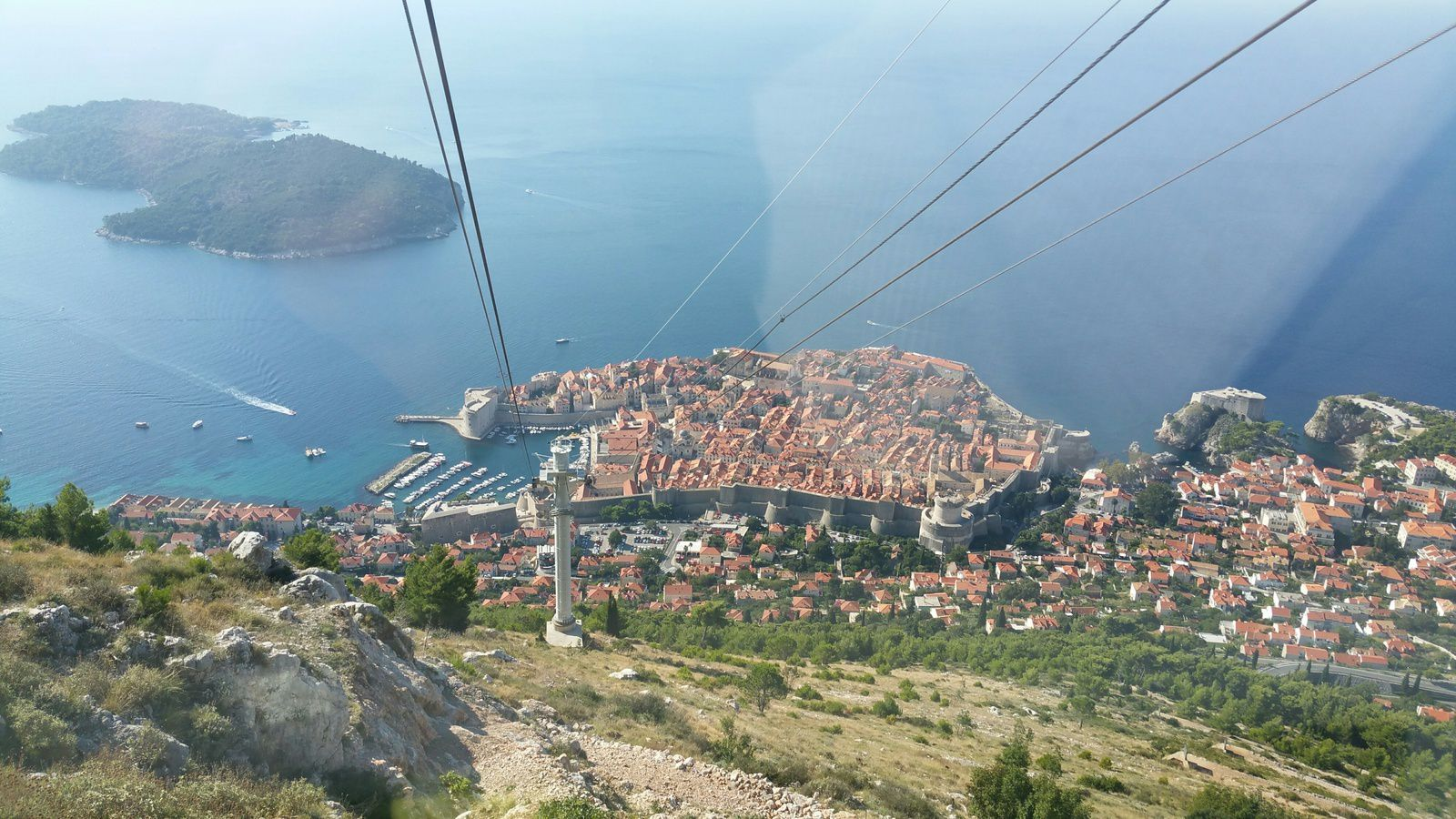 la citadelle de Dubrovnik