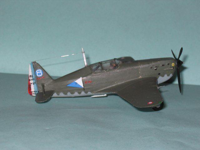 Morane-Saulnier MS-406 de la 2° escadrille du GC I/6, alors que le groupe était stationné en AFN.