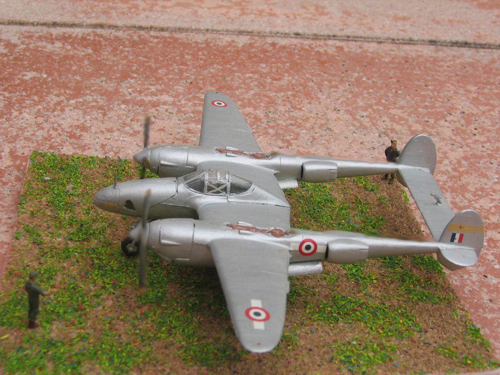 Un Lookheed F-5A du GR 2/33. C'est sur cet appareil que dispqrut Antoine de Saint-Ewupéry, le 31 janvier 1944.